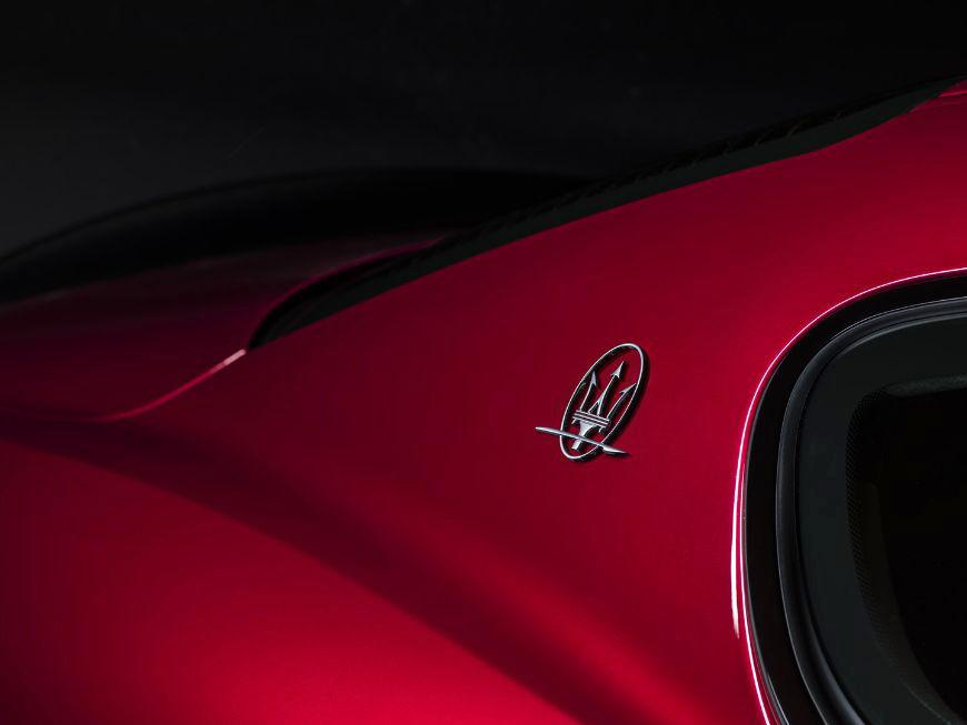2018 Maserati GranTurismo Logo
