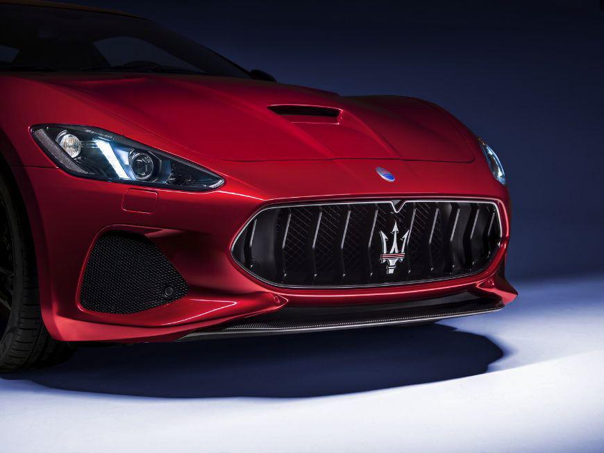 2018 Maserati GranTurismo Front