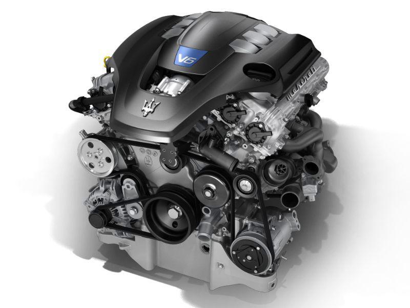 2018 Maserati Levante Engine