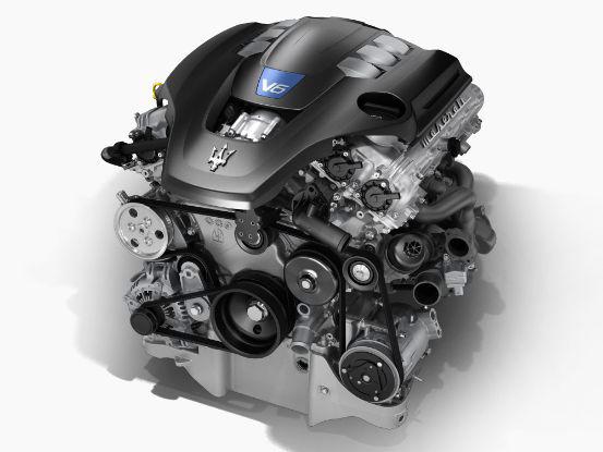 2018 Maserati Quattroporte V6 Engine