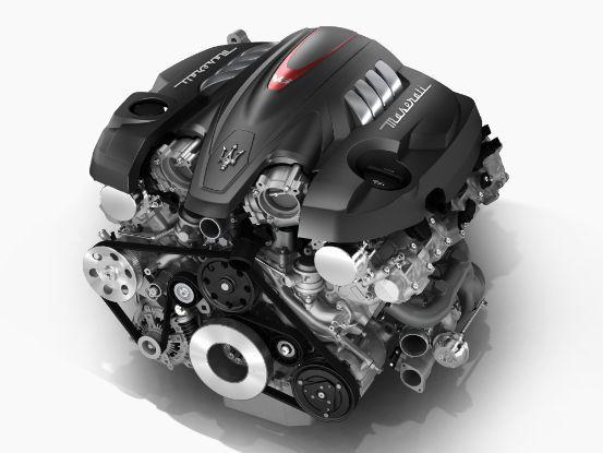2018 Maserati Quattroporte Maserati V8 Engine