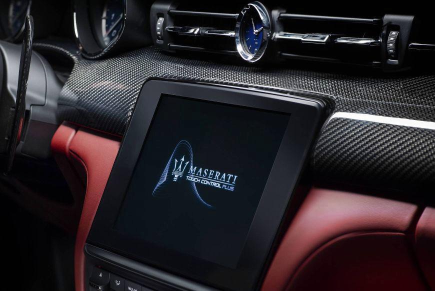 2018 Maserati Quattroporte Dashboard Touchscreen