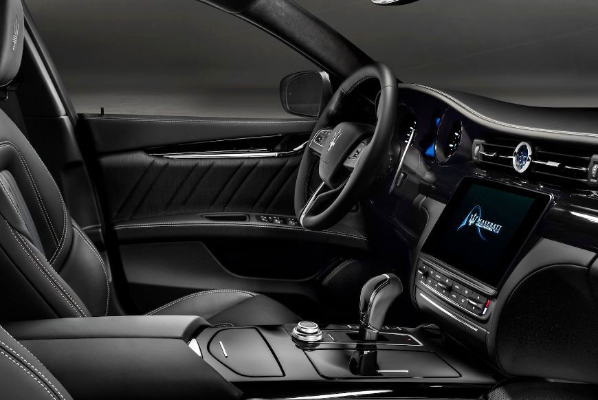 2018 Maserati Quattroporte GranLusso Bowers & Wilkins Speaker