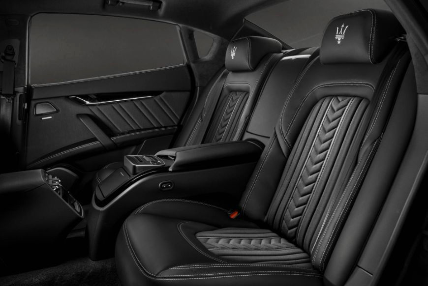 2018 Maserati Quattroporte Zegna Stitching