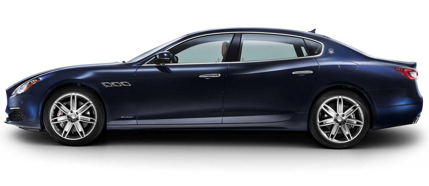 2018 Maserati Quattroporte GranLusso - blue, profile