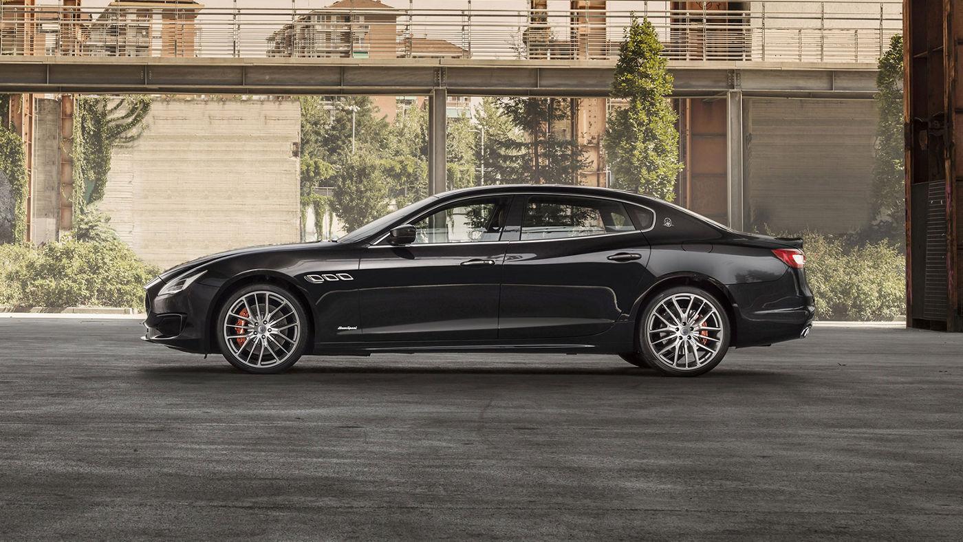 Maserati Quattroporte 2018 l'extérieur