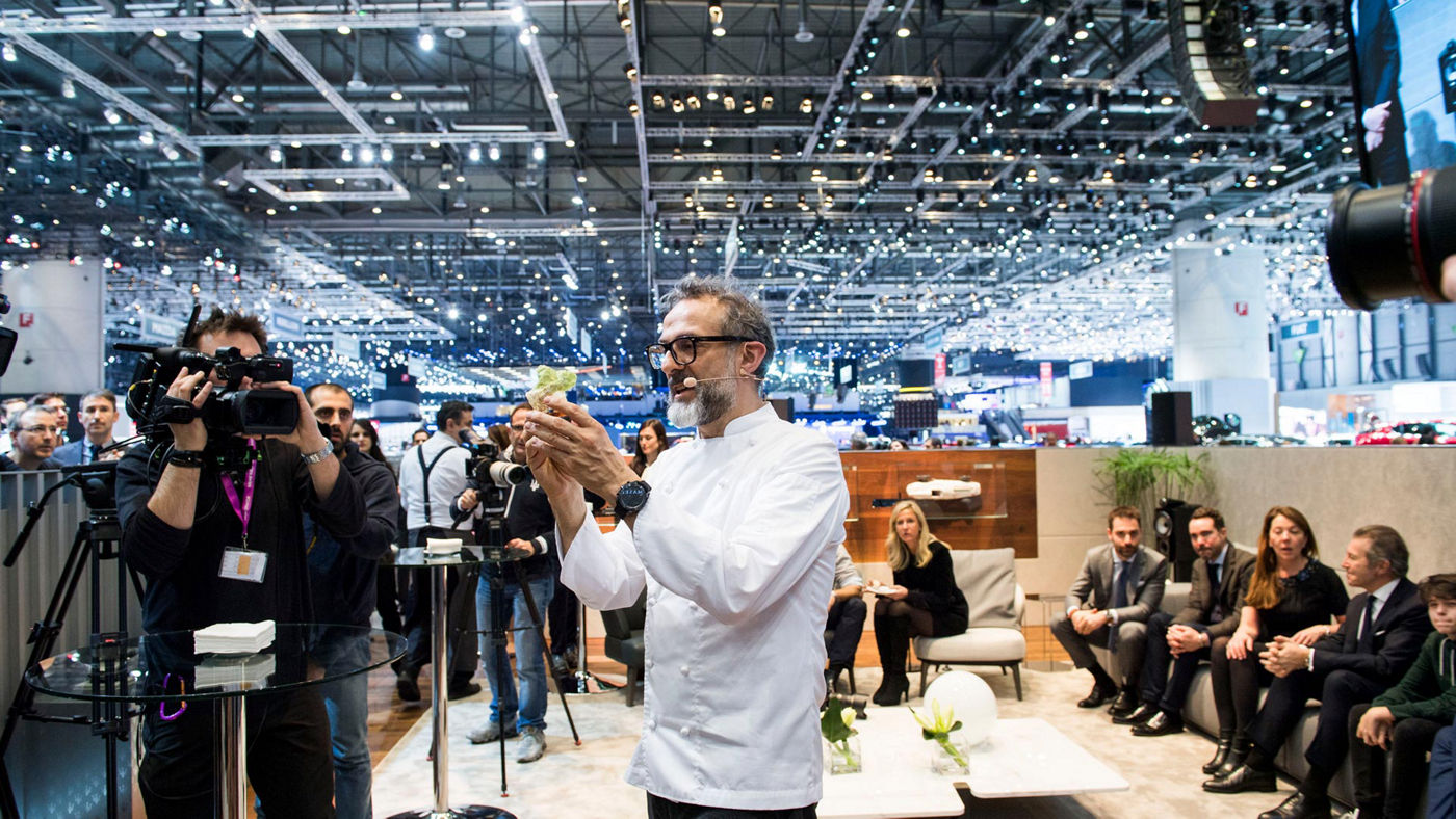 Geneva Motor Show 2017 Massimo Bottura