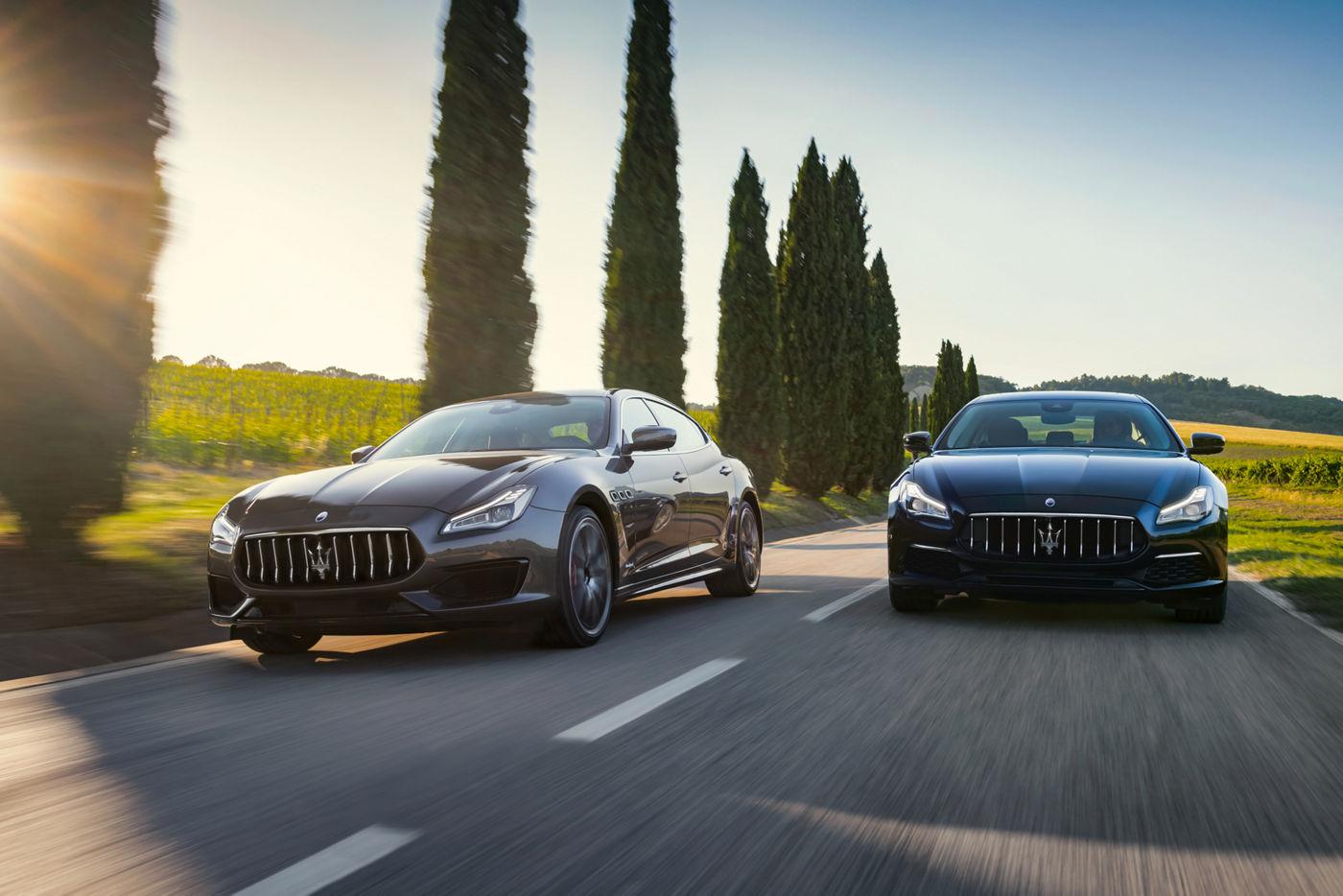 Maserati Quattroporte Range