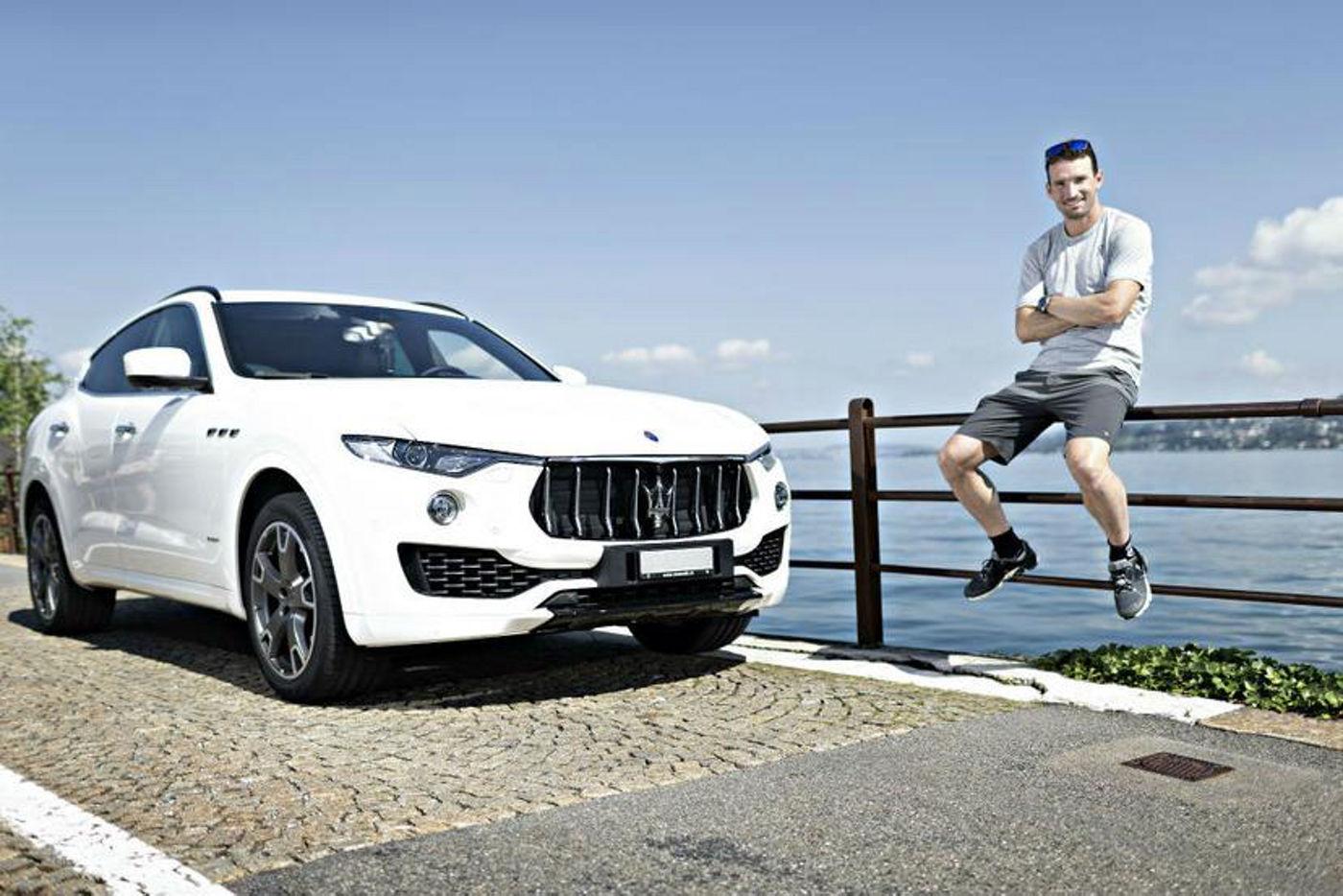 Ronnie Schildknecht und sein Maserati Levante