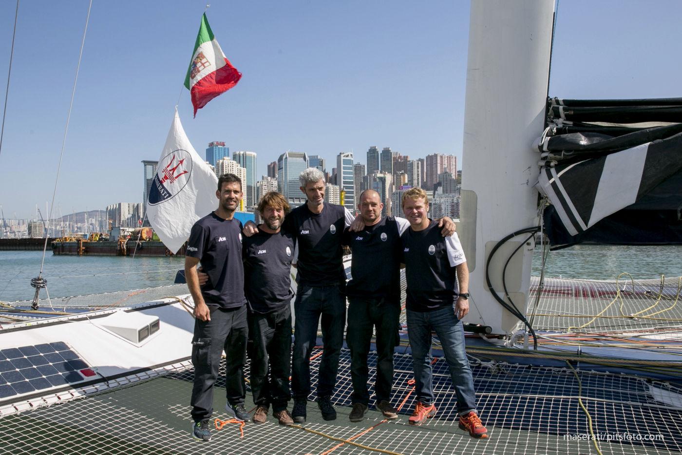 Maserati Multi 70 Crew