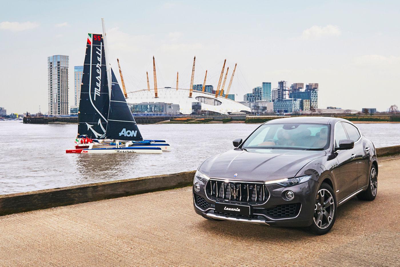 Maserati Multi 70 - Tea Route HongKong London 2018 - Levante MY18