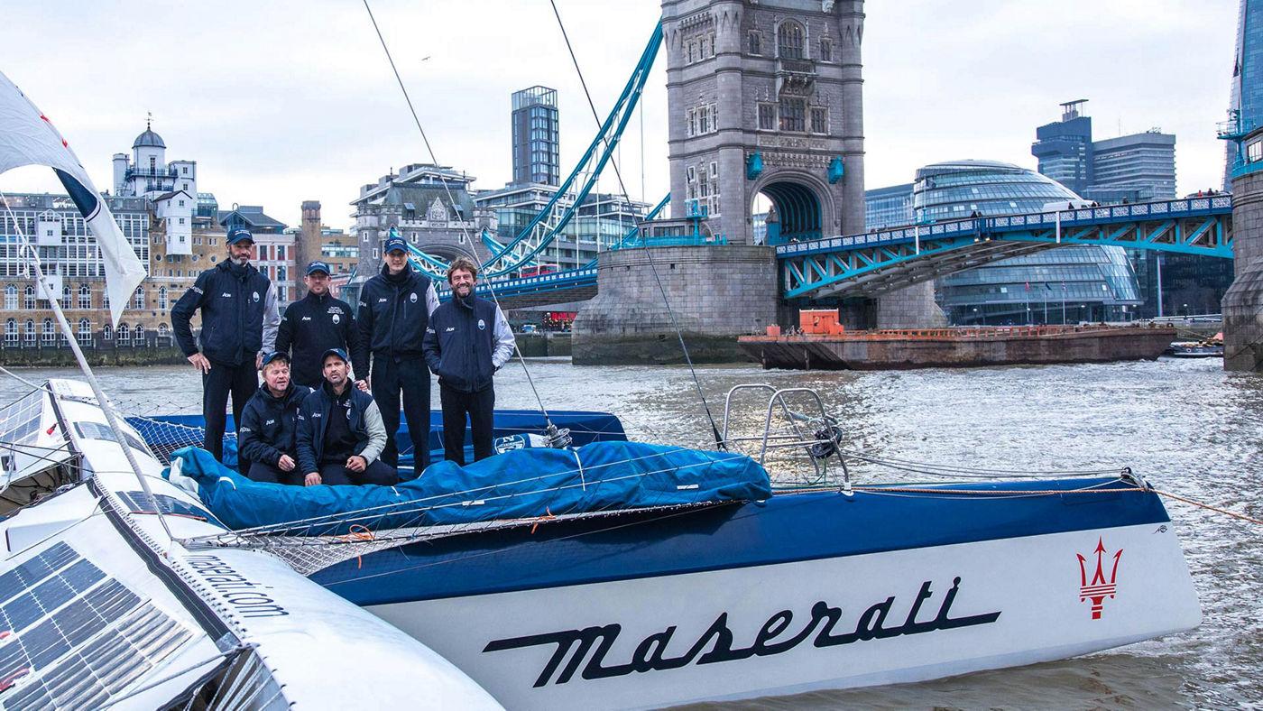 Giovanni Soldini - Team Maserati Multi 70 - 2018