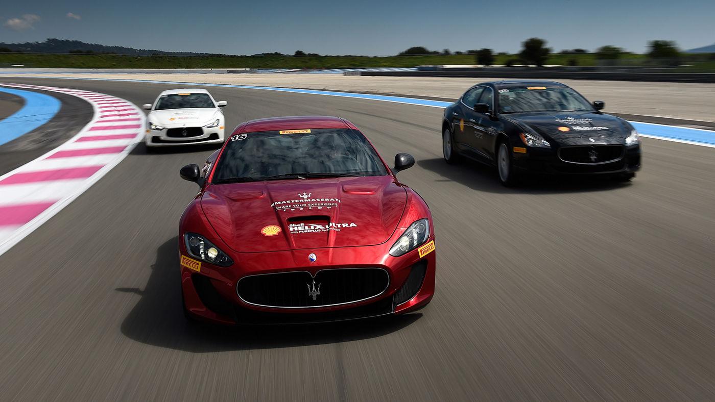 Cours de conduite des modelés Maserati sur circuit - MASTER GT SWISS DAY