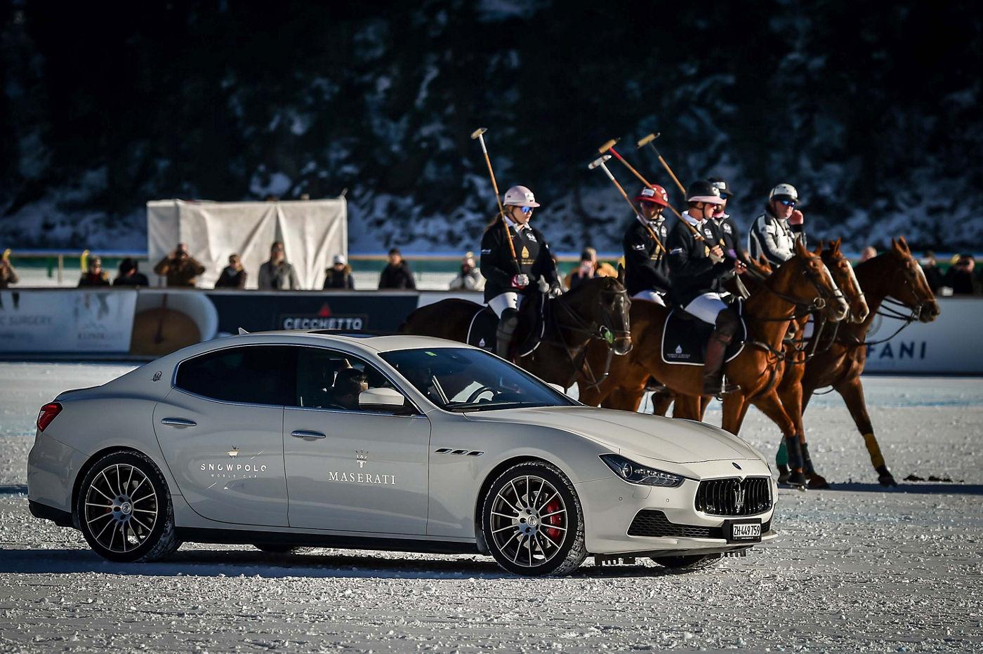 Maserati Polo Tour 2017 - Snow Polo St Moritz - Ghibli and Maserati Polo Team