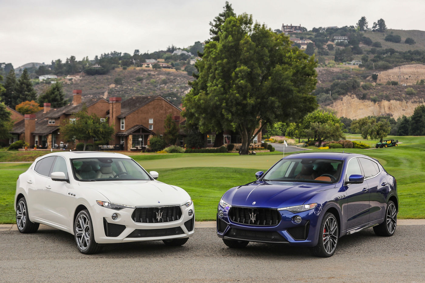 Maserati Levante GTS and Trofeo at Monterey Car Week