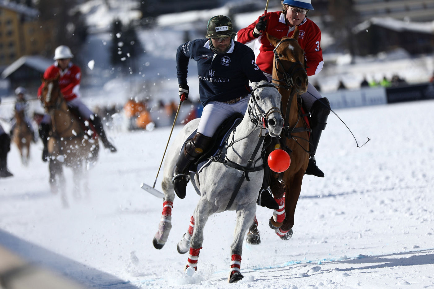 Final Game - Snow Polo World Cup St.Moritz 2018