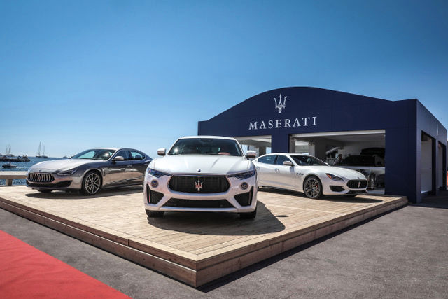 Maserati Ghibli, Levante and Quattroporte MY19 at Maserati Lounge