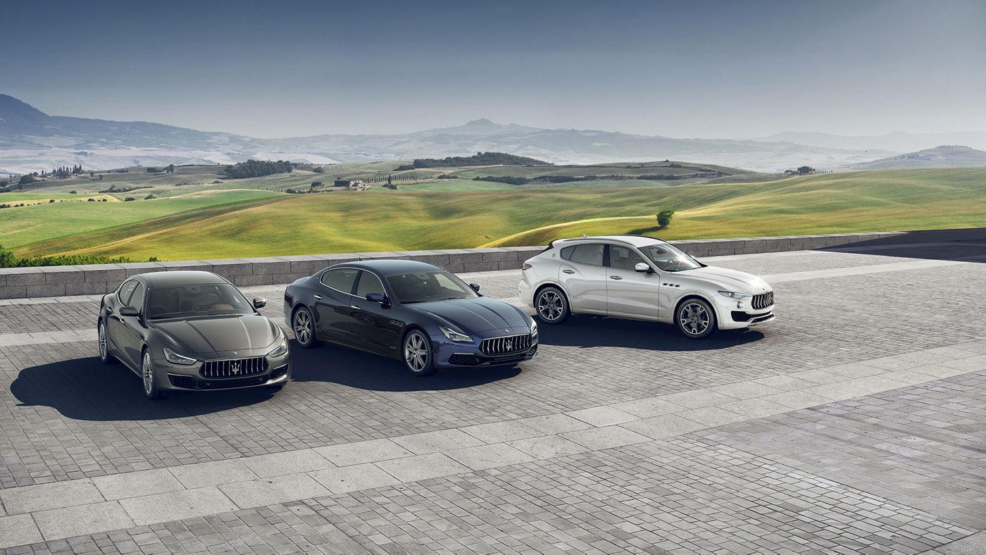 Condizioni Leasing per Maserati Levante, Ghibli e Quattroporte