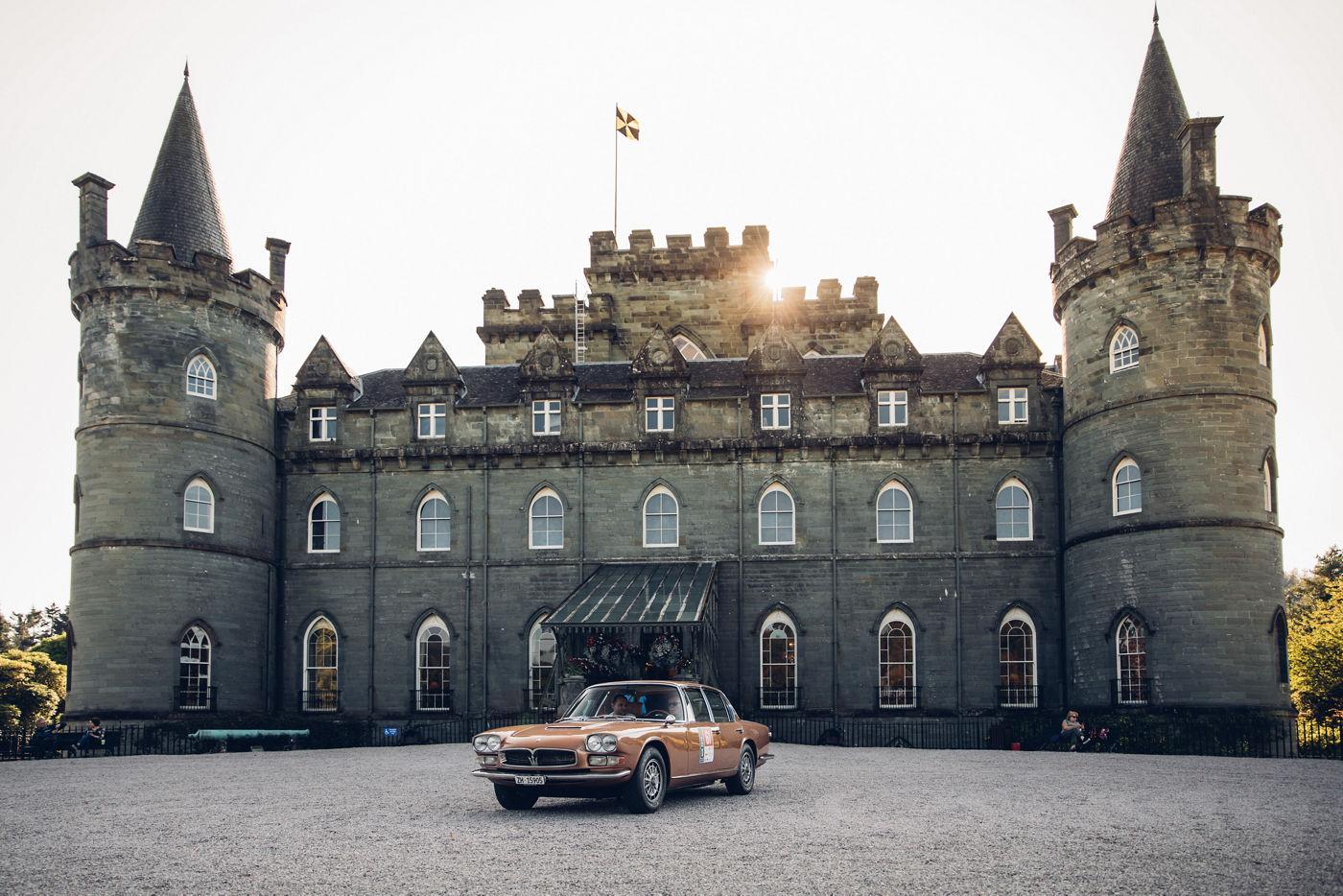 Maserati International Rally 2019 - Inveraray Castle