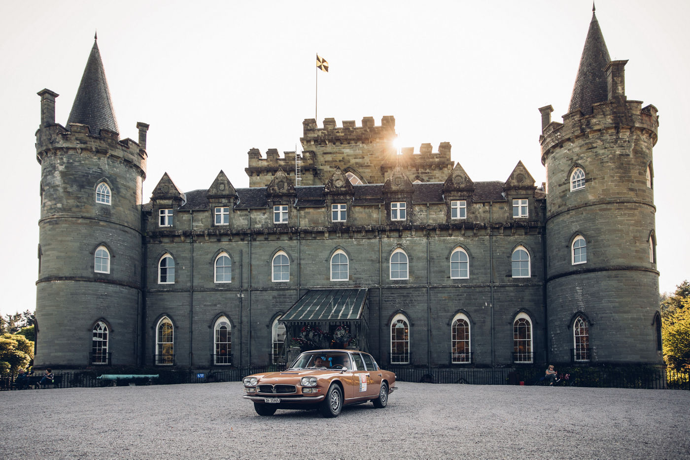 Maserati International Rally 2019 - Inveraray Castle