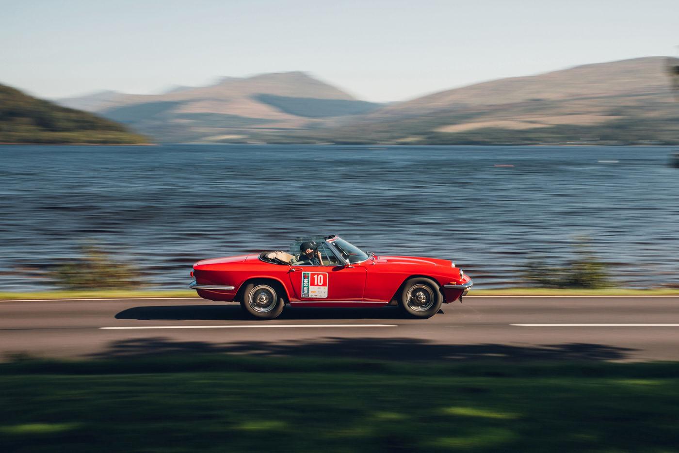 Maserati International Rally 2019 -Loch Fyne Inveraray Castle