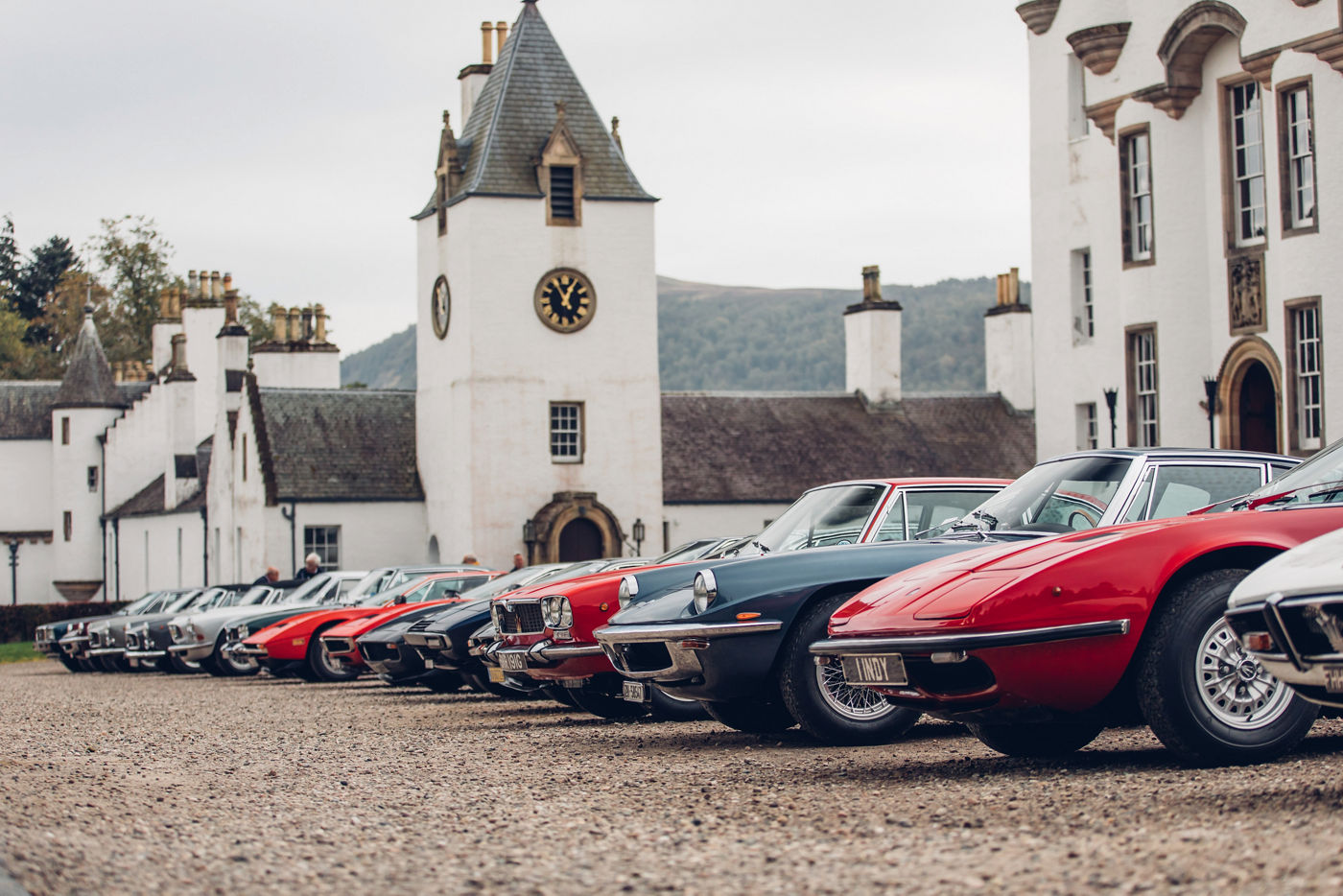 Maserati International Rally 2019 - Maserati at Blair Castle