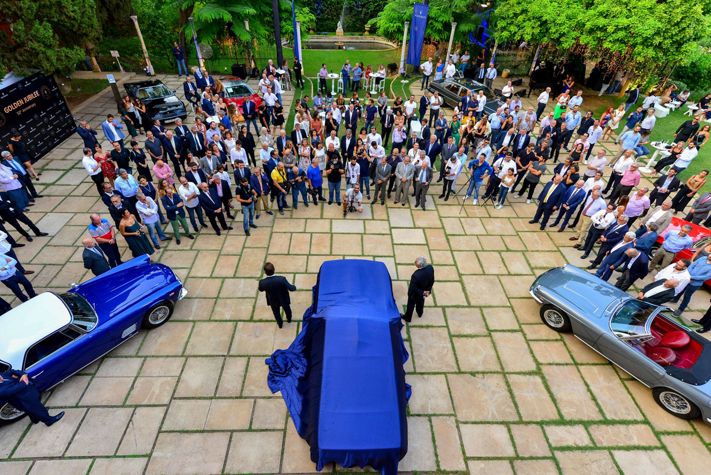 G.Bazerji & Fils und Maserati feiern 50 Jahre Partnerschaft im Libanon im Sursock Palace