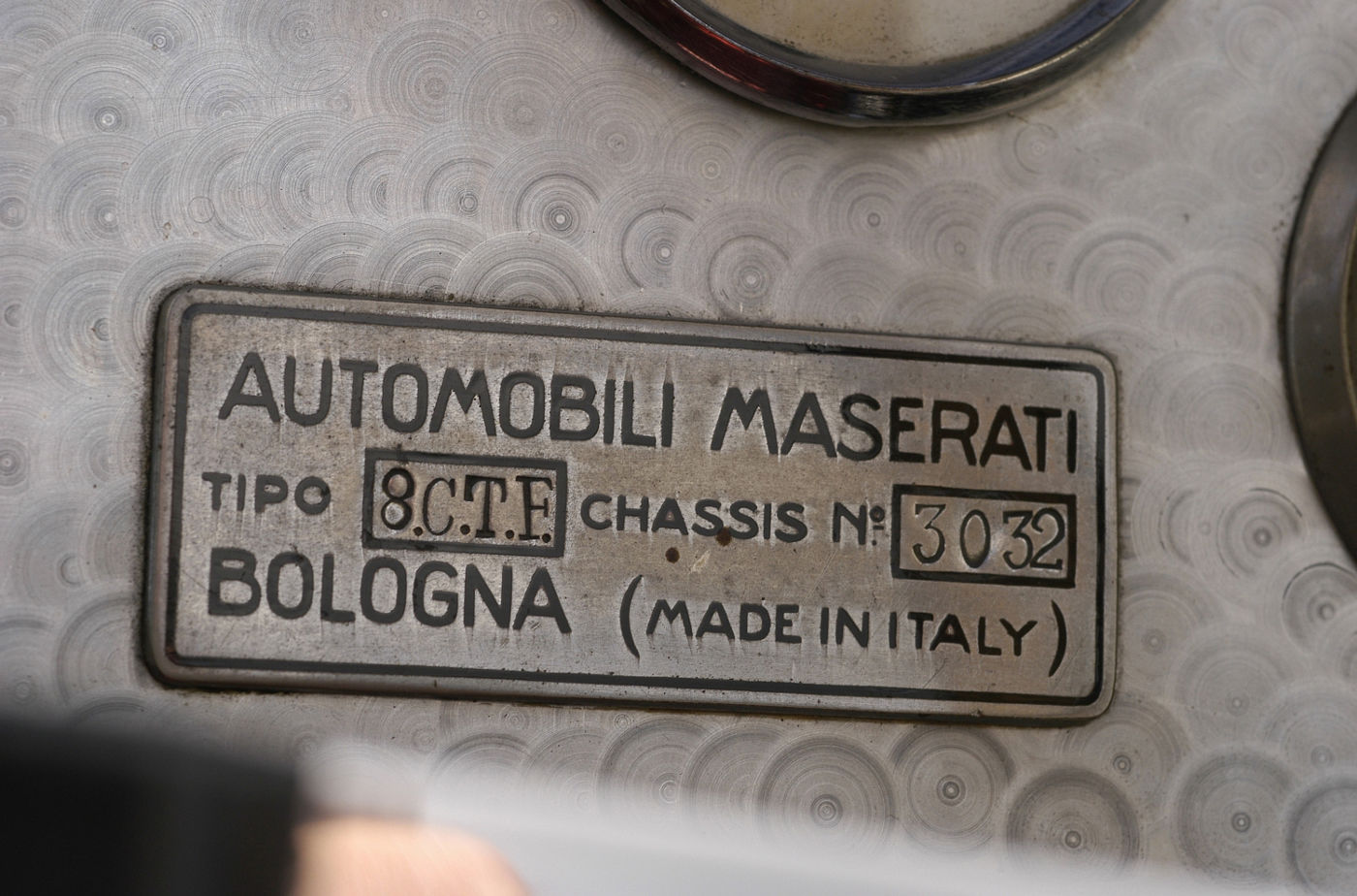 Maserati 8 CTF - Indianapolis500 - 1939