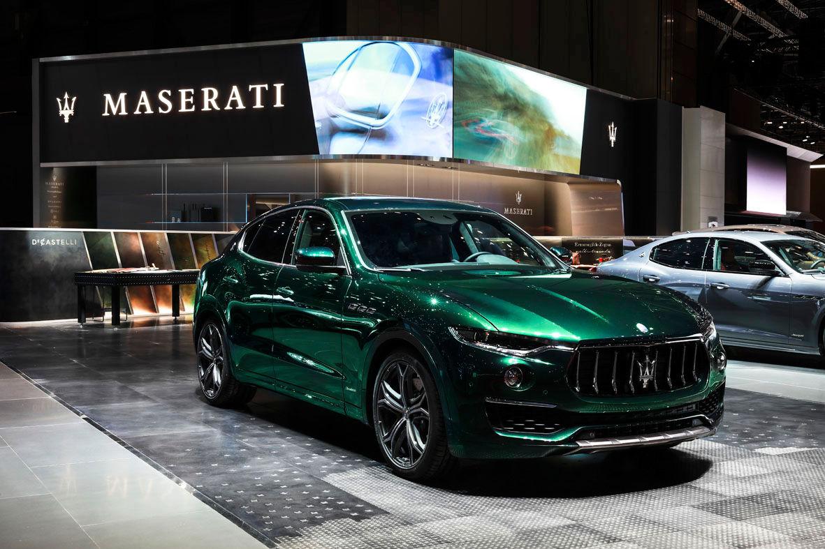 Maserati Levante ONE OF ONE Allegra Antinori - Geneva Motor Show 2019