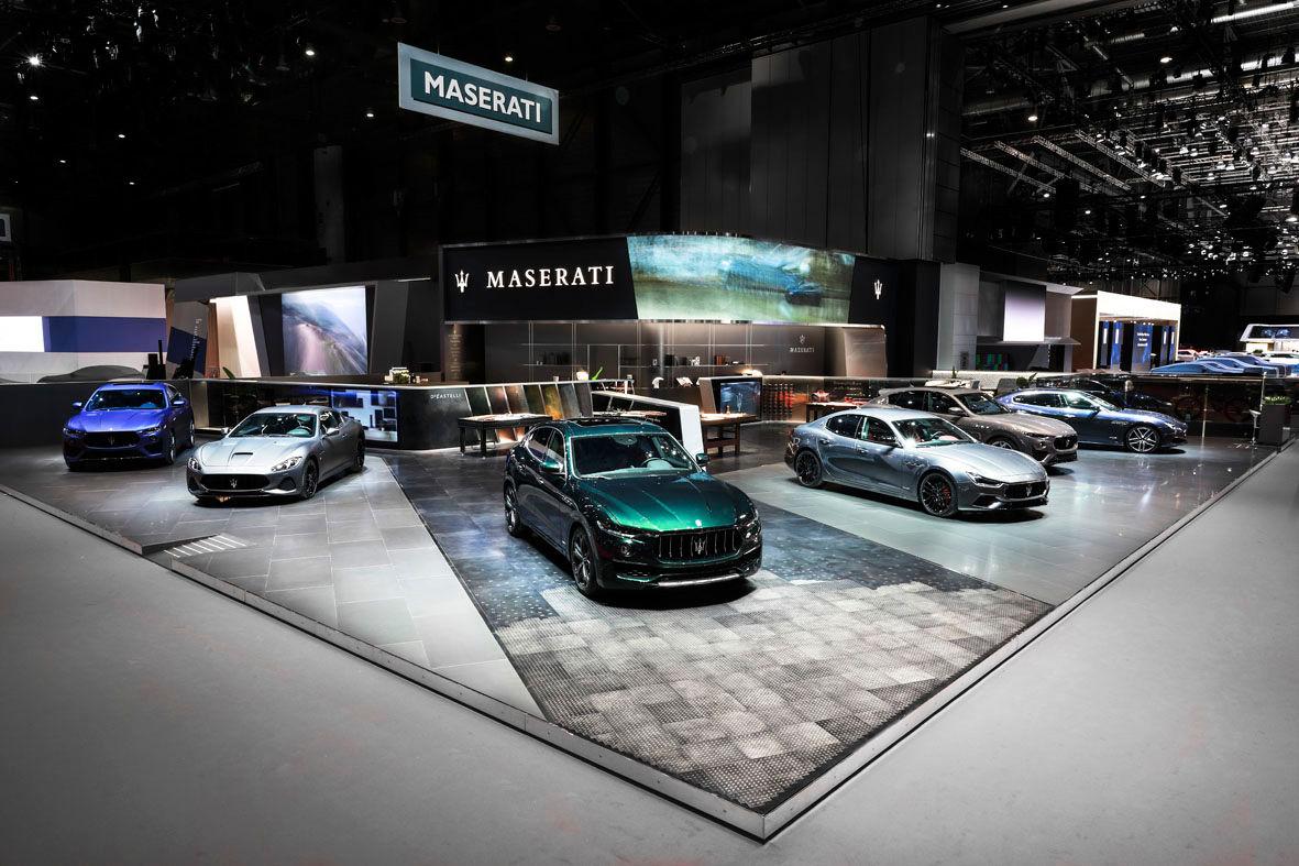Maserati Stand - Geneva Motor Show 2019