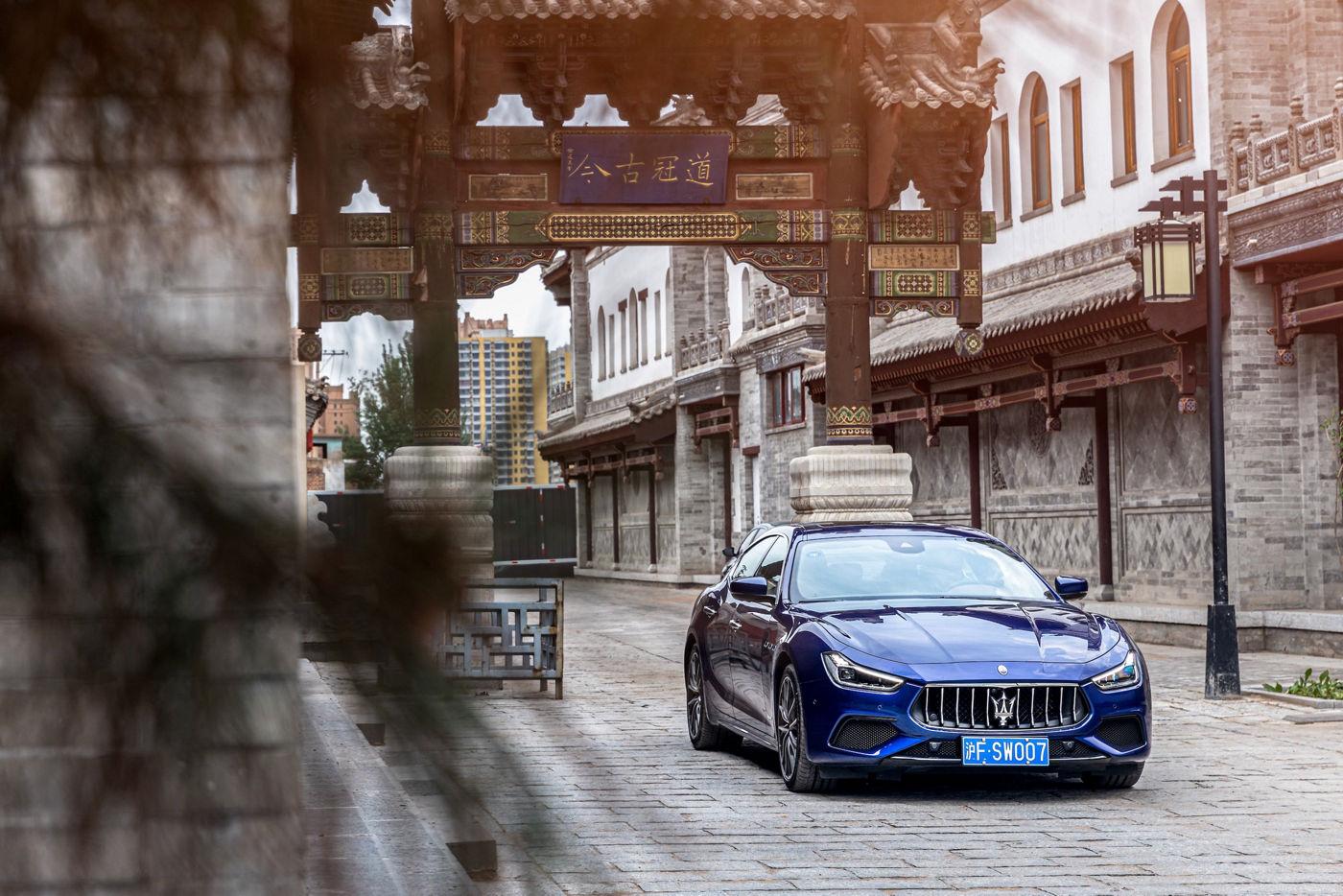 Maserati Ghibli MY19 China Grand Tour