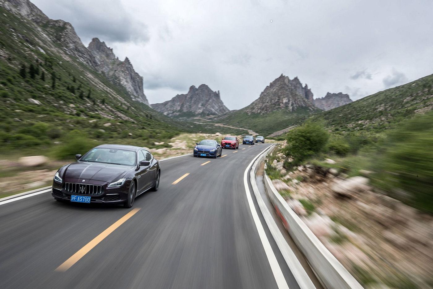 Maserati MY19 Range China Grand Tour