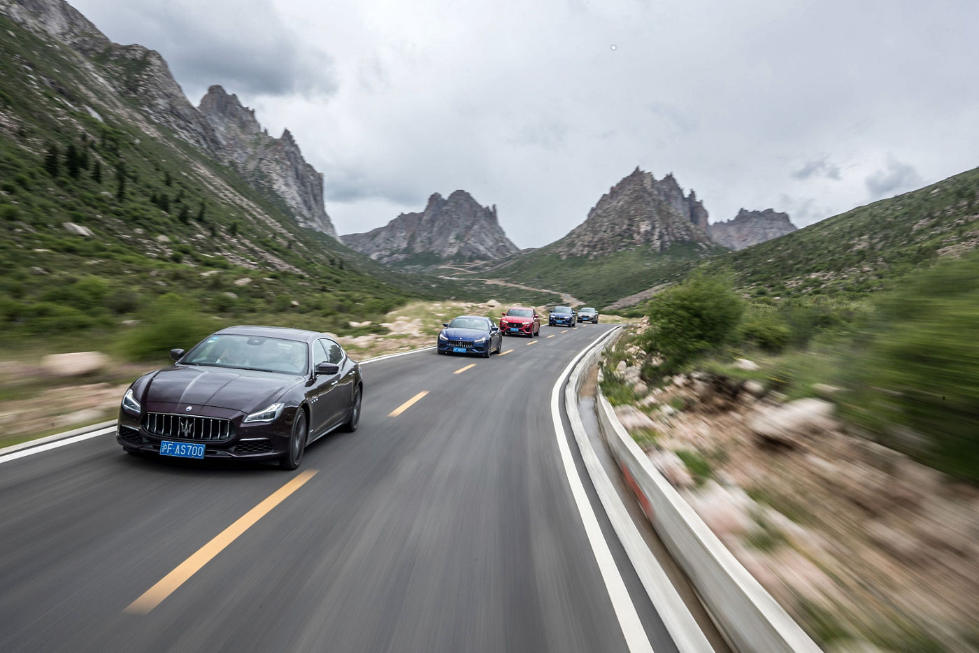 Maserati MY19 Range China Grand Tour