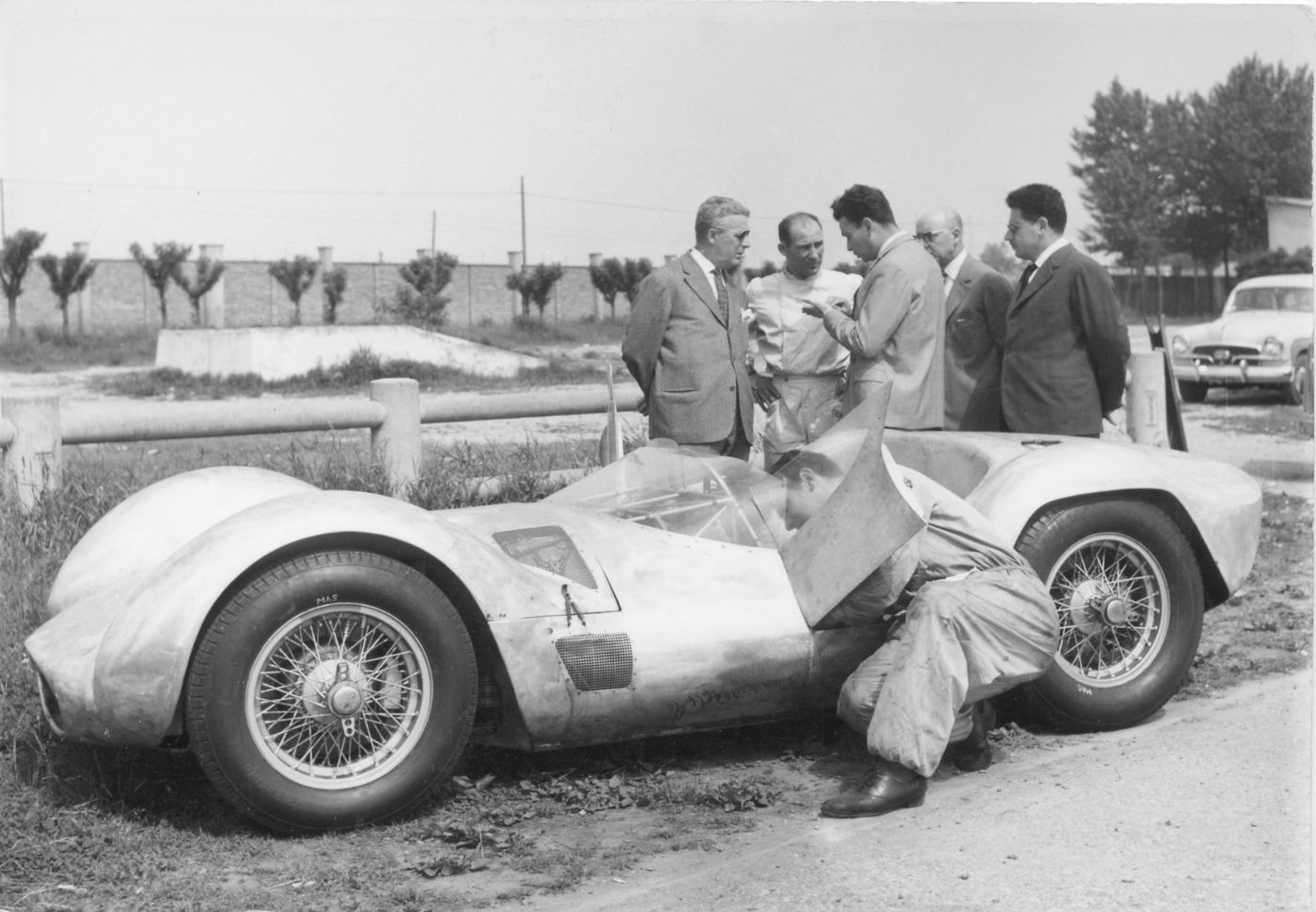 Tipo 60 - Birdcage 1959 - Test Stirling Moss Modena