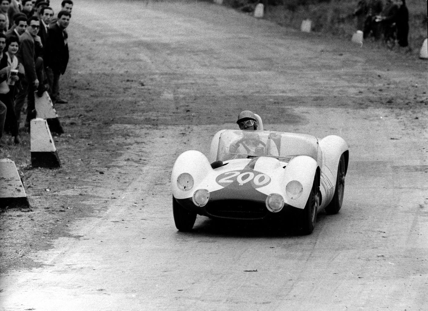 Tipo 61 - Birdcage Nino Vaccarella - Targa Florio - 1960