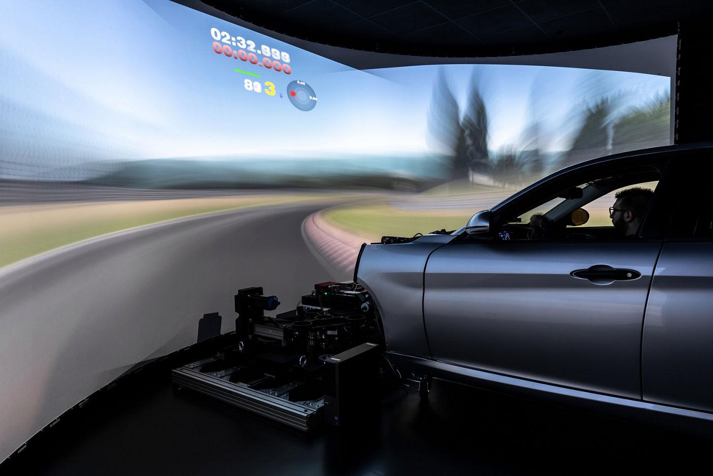 Maserati Innovation Lab - Static Simulator
