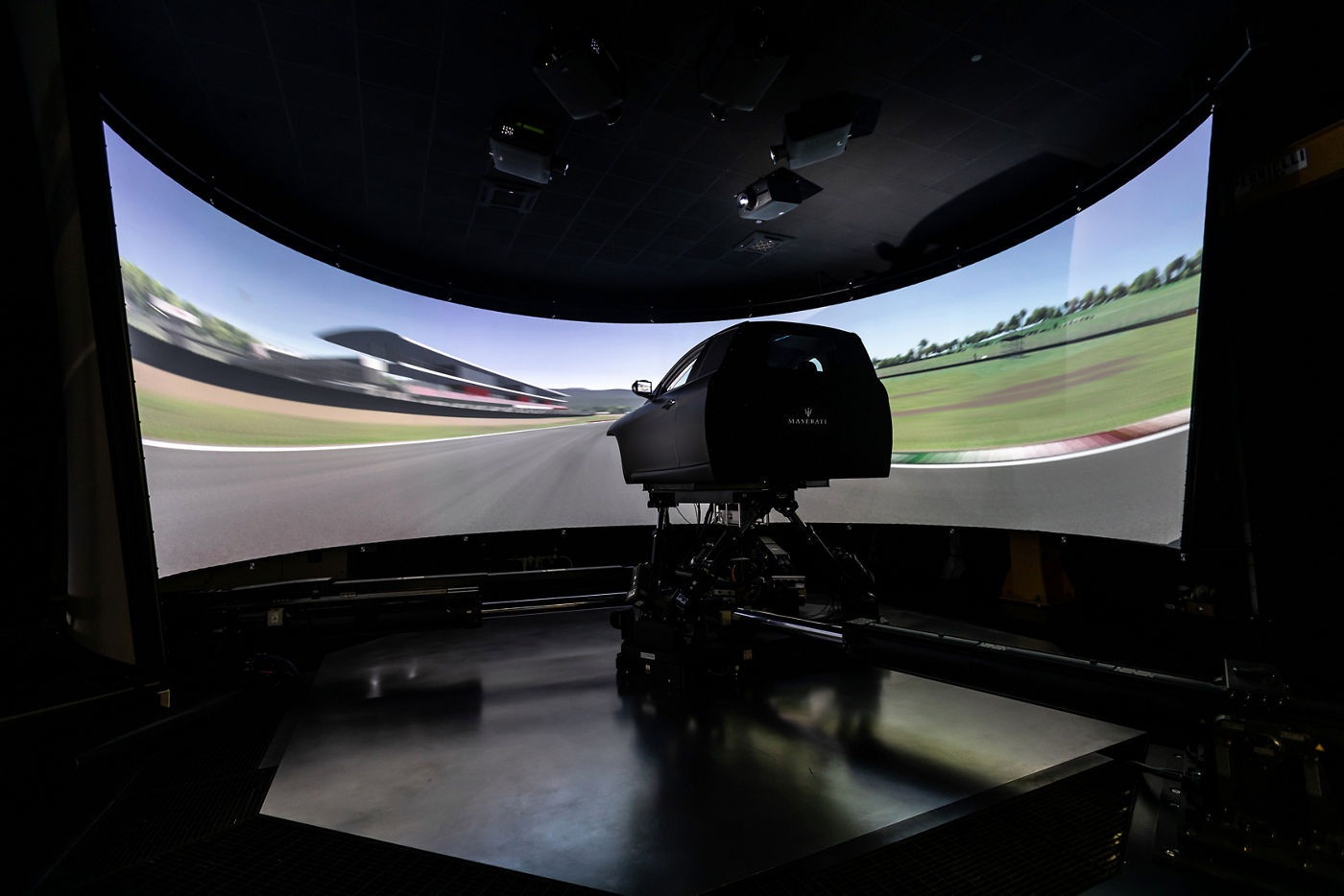 Maserati Innovation Lab - Dynamic Simulator