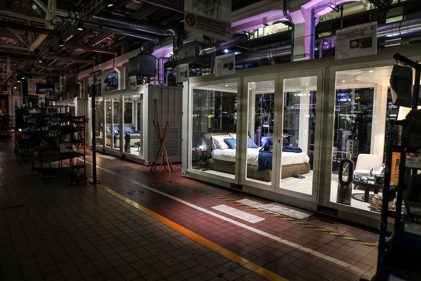A Night at the Maserati Plant