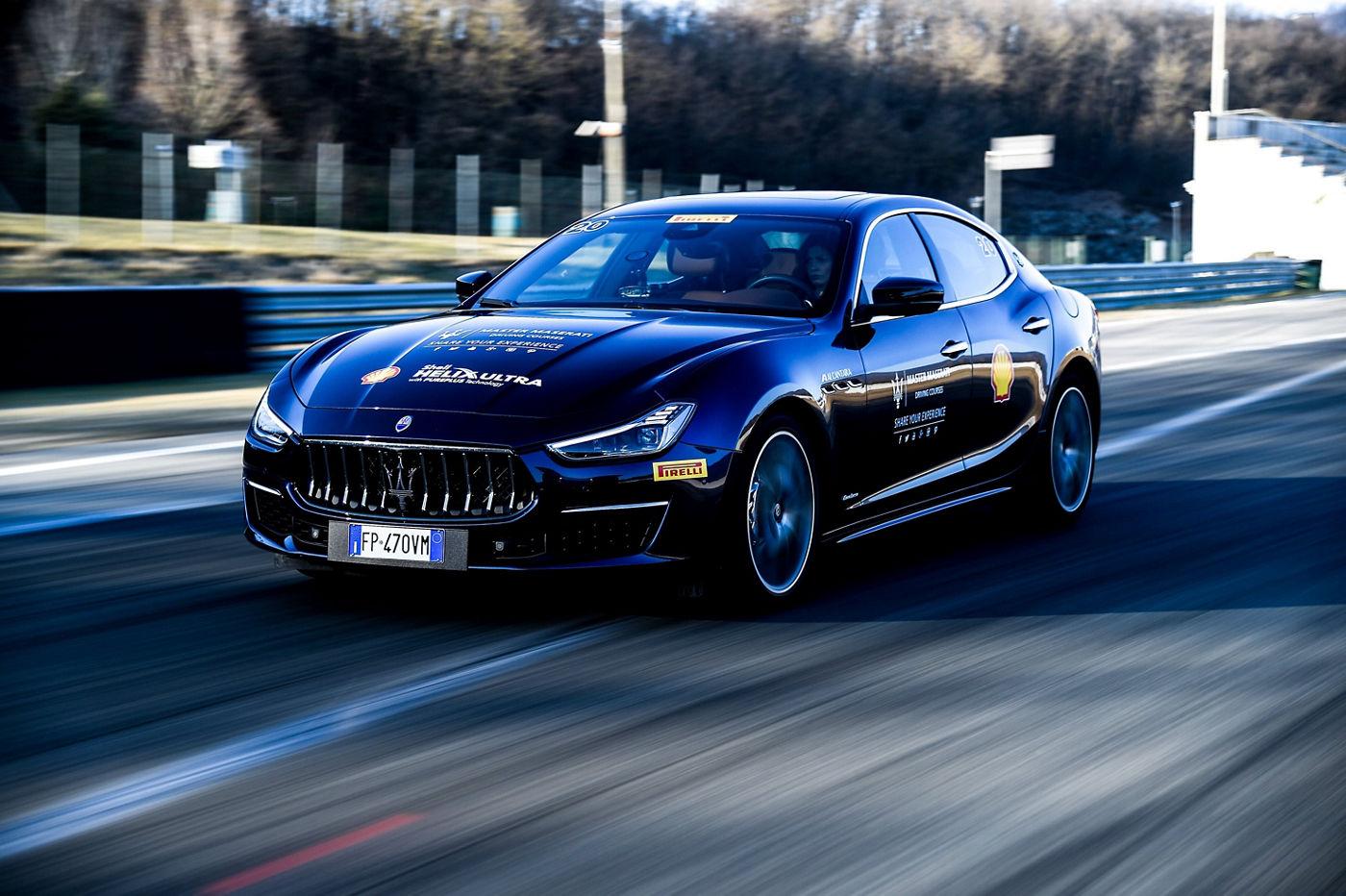 Master Maserati Driving Courses 2019 - Ghibli