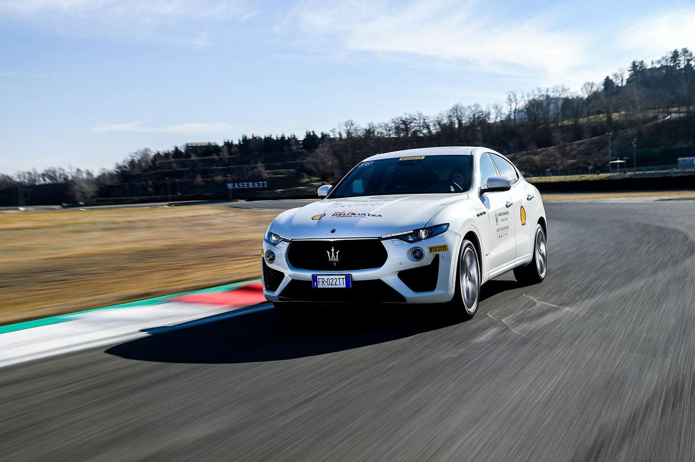 Master Maserati Driving Courses 2019 - Levante