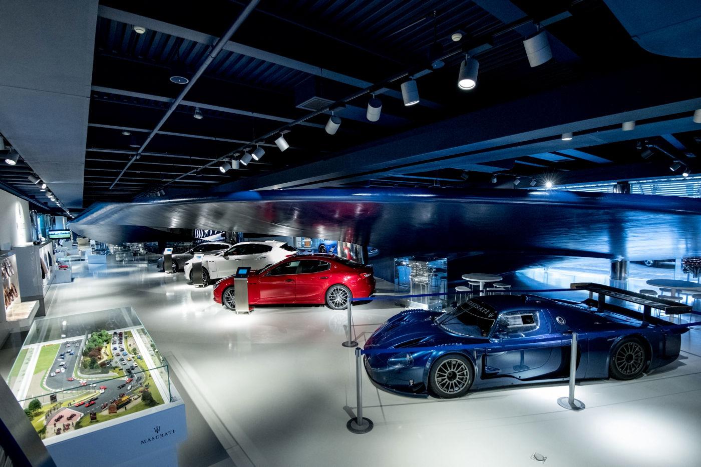 Maserati Showroom in Modena