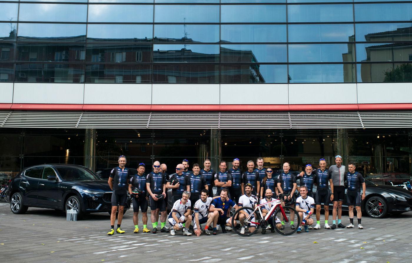 Paris Modena Radtour 2019