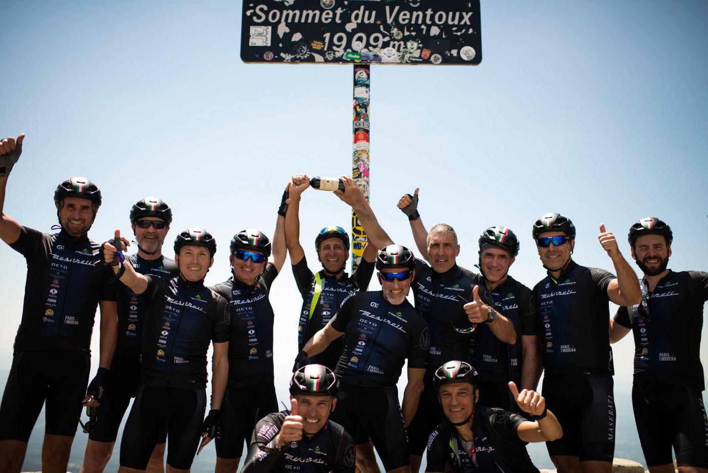 Paris Modena Radtour 2019 - Mont Ventoux