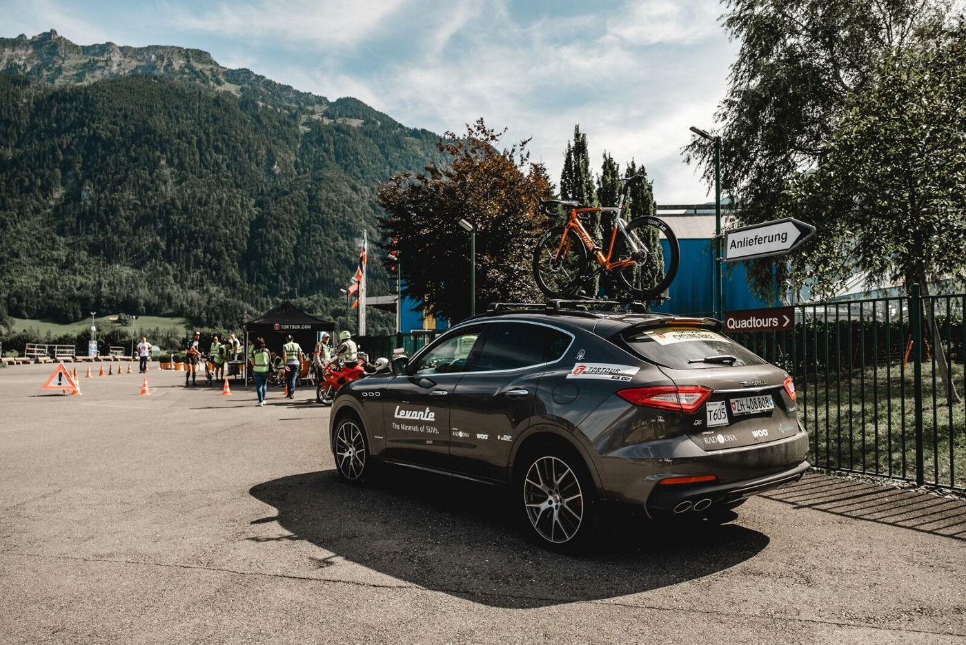 Maserati bei der TORTOUR 2019