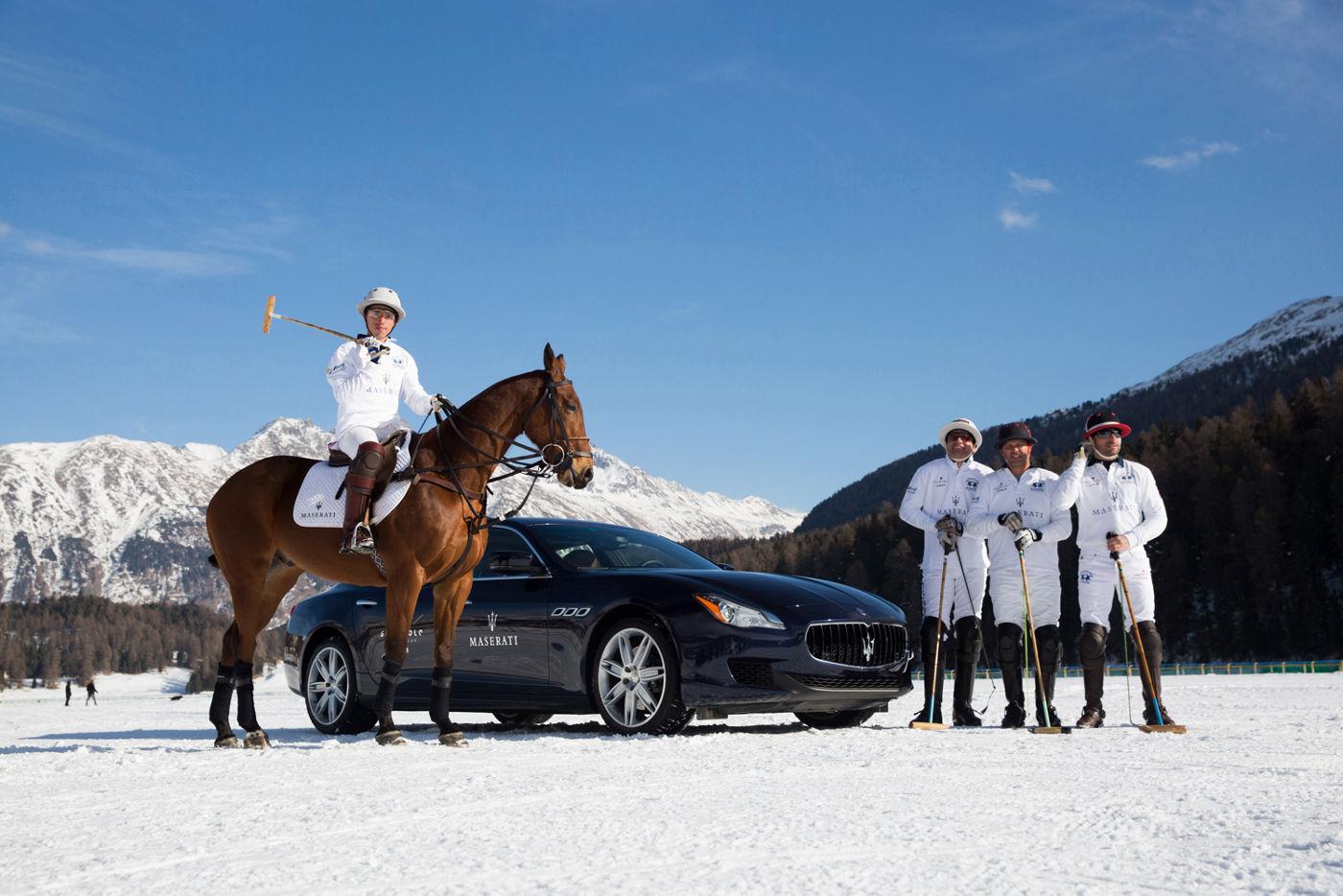 Maserati Polo St. Moritz