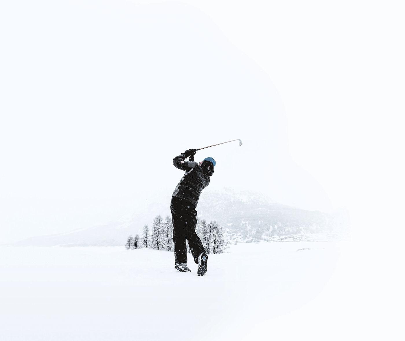 Maserati Snow Golf