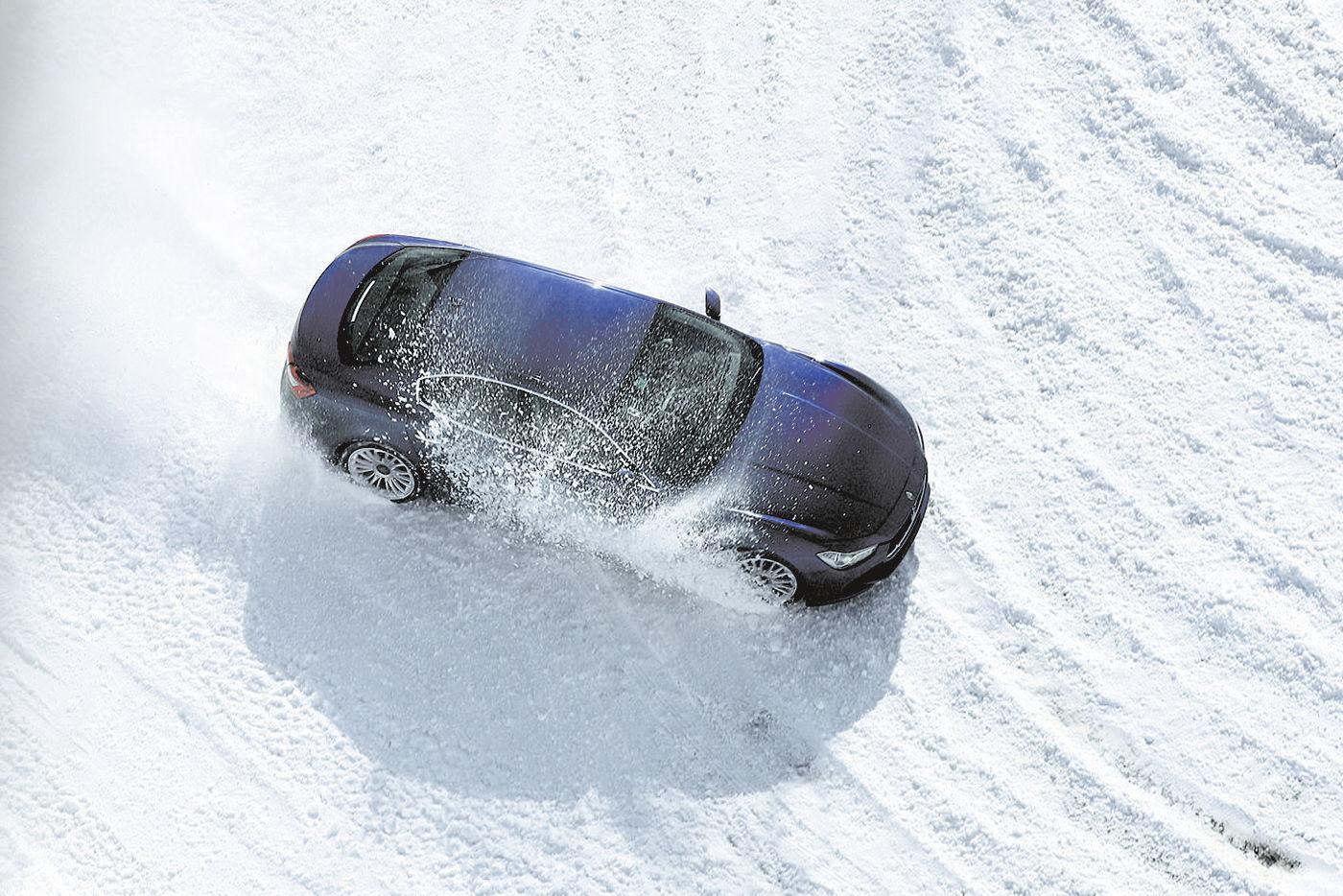 Maserati Snow and Ice