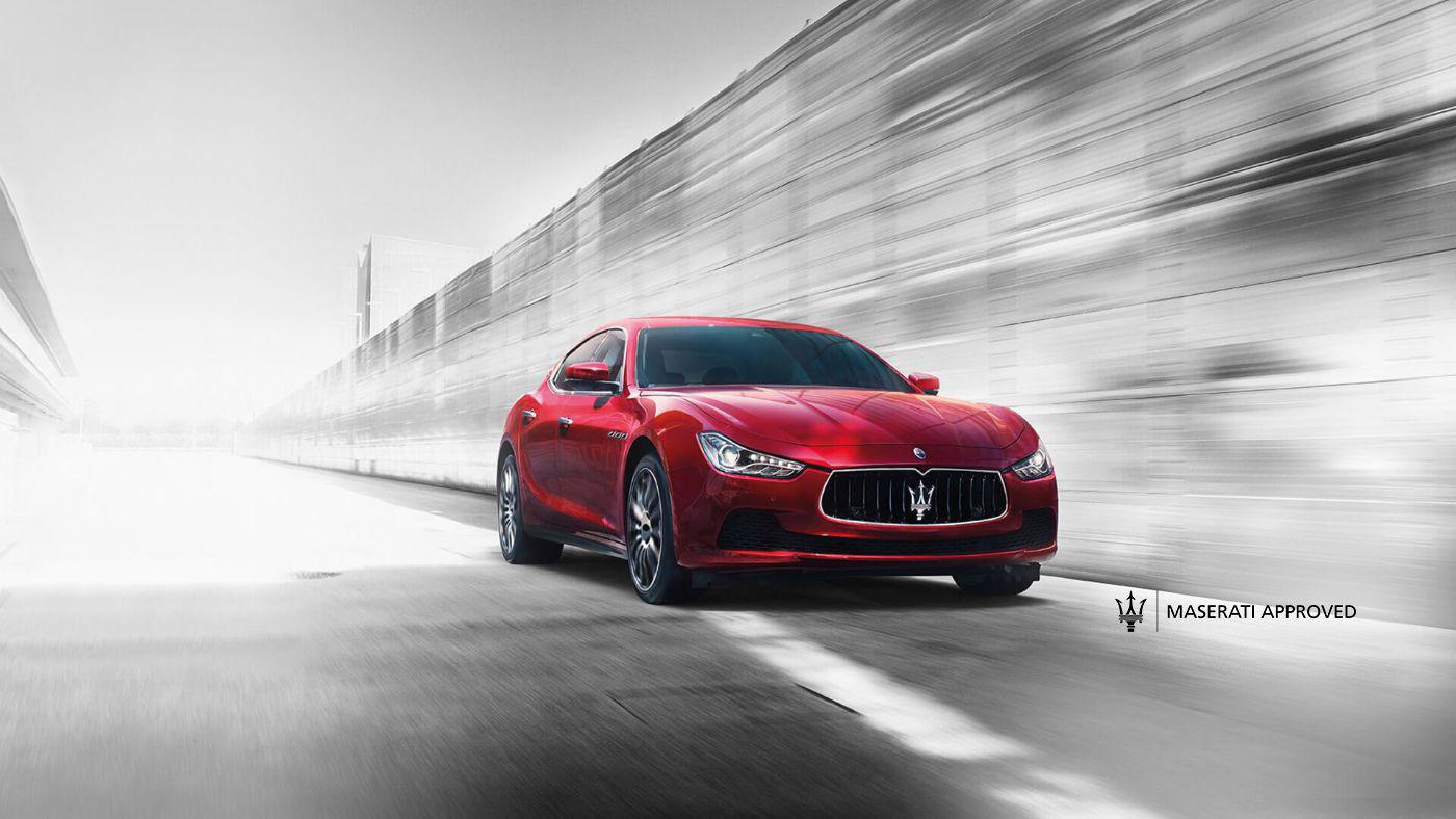 Maserati Approved - zertifizierter Gebrauchtwagen: Maserati Ghibli in rot