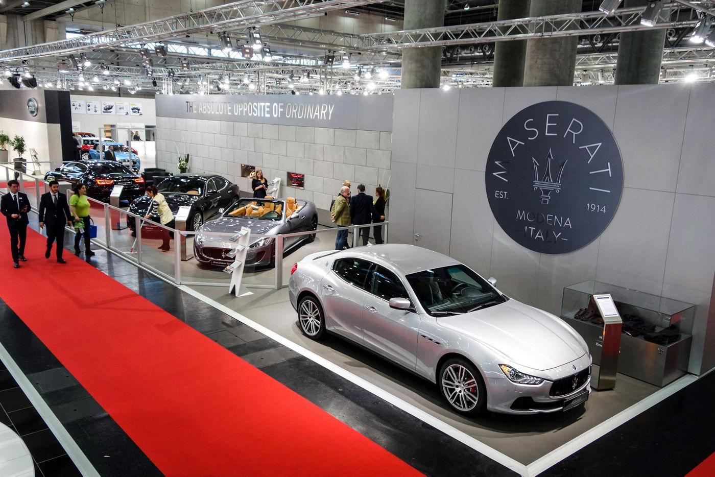 Vienna Autoshow 2017 Maserati