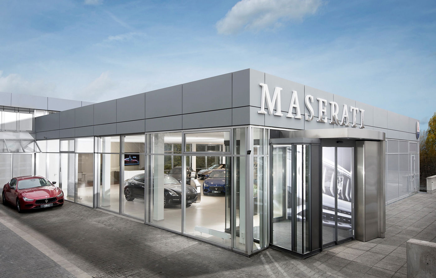 Maserati Showroom Mainz